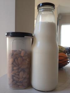 My almond milk